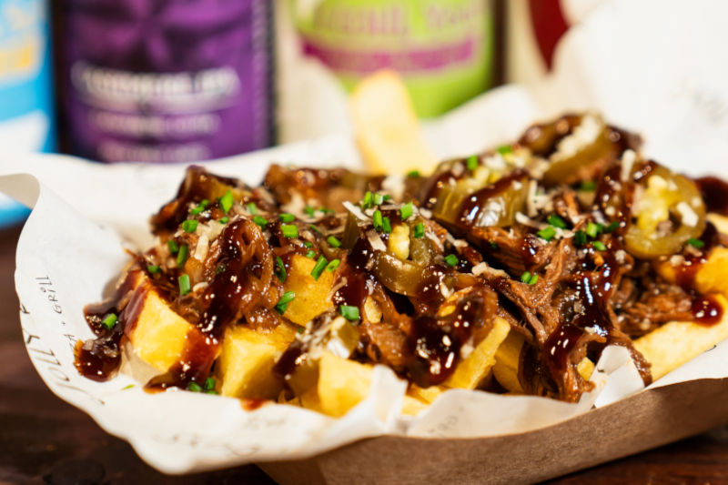 Beef Brisket Loaded fries