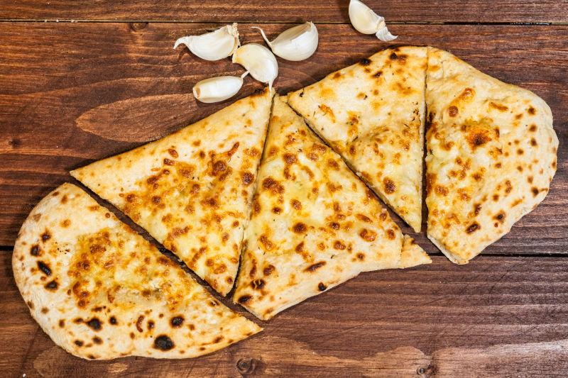 Cheesey Garlic Flat Bread