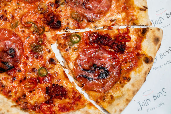 N'Duja Good pizza